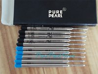 ballpoint ink refill - Pieces MB High Quality Black and Blue Mixed Color Ink Ballpoint Pen Refill