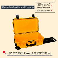 Wholesale Dust proof box waterproof seal equipment case mm safety Instrument case Seal toolbox with pre cut foam liningsafety
