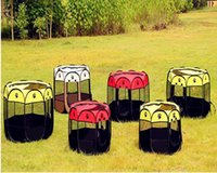 anise water - Factory spot supply can unpick and wash fold anise pet fence Oxford protection water resistant to catch a cat cage dog cage