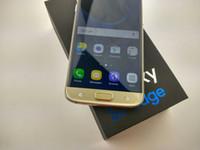 Free DHL Curved écran S7 Edge 5,5 pouces 1 Go RAM 4 Go ROM Android Téléphones cellulaires Afficher Octa Core 4G LTE HDC téléphone mobile intelligent
