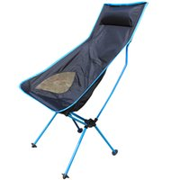 Wholesale Portable Stable Foldable Mesh Chair Seat Lightweight Seat for Hiking Fishing Picnic Barbecue Beach Chair Other Fishing Tools