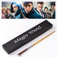 Wholesale 2017 Fantastic Beasts and Where to Find Them Newt wand Magical Wands Cosplay staves Wands Cosplay Harry Potter sequel Christmas gift Toys