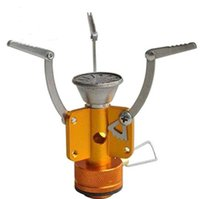 Wholesale 3000W Ultra light Camping Stove Gas Stoves Alumimum Alloy Outdoor Cooker Outdoor Burner Gas Stove Miniature Portable Picnic