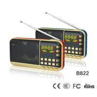 Wholesale Mini Portable FM Raido Music Player Recording Radio with USB Cable Port and TF Card Port