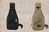 Wholesale Leisure Outdoor School Bags Cycling Hiking Sport Canvas Bag Simple utility Men Diagonal Backpack travel Military Bags
