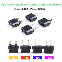 Wholesale UK EU US AU mini socket adapter travel portable adapter ABS flame retardant material safe and reliable