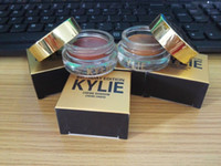 Wholesale 2017 New Kylie Jenner Cosmetics Birthday Limited Edition Creme Shadow Rose Gold Copper Metallic Long wear Creamy Eyeshadow