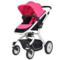Wholesale Gubi she can sit and lie light shock proof foldable BB car baby stroller children than high landscape baby cart