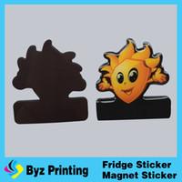 Wholesale New arrival promotion fridge magnets sticker paper refrigerator magnets