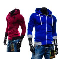 best price casual jacket men - Best price and good quality Men s casual hooded Casual Hoodie coat man cardigan slim Sweatshirts Jackets M XL asian size