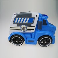 baby gifts flash - Kids Police Car Model with Light and Sound Diecast Model Cars Baby Toys for Children Gifts