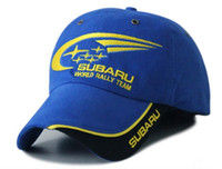 Wholesale Logo Embroidery F1 NASCAR IndyCar V8 Supercar Racing Caps Hats for SUBARU World Rally Team Cap Hat