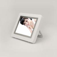 2.4 inch album display - Nice Gift inch Mini Acrylic TFT Digital Photo Frame Digital Picture Album MB Clock Calendar Display White Color