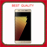 Wholesale With Gift Goophone note7 edge G LTE Octa core inch IPS G RAM G ROM ADD G Memory Card MP Camera unlocked smartphones