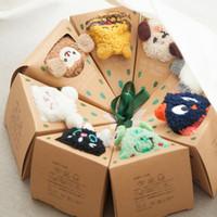 Wholesale Baby Children Soft Socks Boys and Girls Cartoon Socks Non slip Floor Socks Gift Box Package Coral Fleece Leg Warmer Christmas gift
