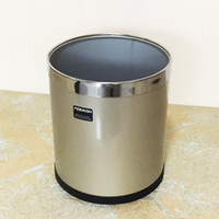 trash can - Trash business office fashion trash cans thickening classic kitchen trash