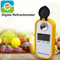 Wholesale DR101 New Mini Digital portable brix Refractometer pct for sugar test cutting oil fruit