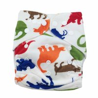 Wholesale 2016 New Baby Infant Nappy Washable Diapers Soft Covers Free Size Adjustable Baby Nappy Diaper With Napper inside