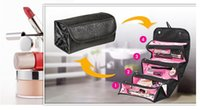 bags buddy - 2 color Roll N Go Travel Buddy Cosmetic Bag And Travel Toiletry Organizer IN Make Up Tools Cosmetic Bags