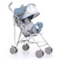 Wholesale Baby Stroller Sit and lie High Landscape Baby Carriage contracted Multifunctional shock absorption portable folding Super light M14