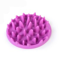 Wholesale Excellent Soft Silicone Jungle Dish Pet Slow Eat Feeder Dog Cat Slow Bowl Reduce Weight Anti Choke Interactive Feed Bowl