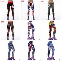 Wholesale Women Leggings Football Club Womens d Galaxy Printed Leggings for Women Workout Tracksuit Yoga Stretch Tights Sport Leggings
