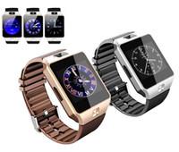 Wholesale 2016 Dz09 Smart Watch Smartwatch Sim Card Bluetooth Wristwatch Sleep State for Intelligent Fitness Tracker Phones Pk U8 A1 Gt08