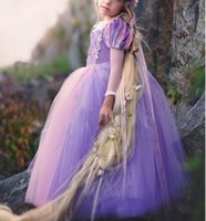 Wholesale 170 Lace Sash Ball Gown Net Baby Girl Birthday Party Christmas Princess Dresses Children Girl Party Dresses Flower Girl Dresses