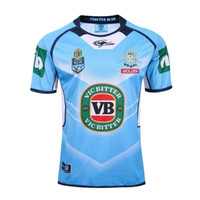 Wholesale NRL National Rugby League Thai quality Queensland Maroons Rugby jerseys NSWRL Holden blue