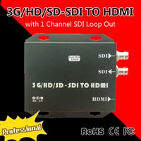 Wholesale high quliaty goods G HD SD SDI TO HDMI converter with Channel SDI Loop Out adapter Easy to install Use