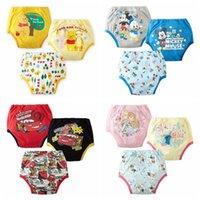 Wholesale Baby Boys Girls Newborn Nappy Panties Infant Pants Thong Diapers Washable Cloth Diaper Children s Underwear Reusable Briefs Kids Clothi