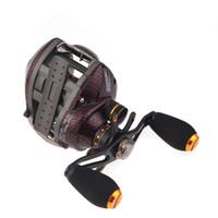 Wholesale Trulinoya TS1200 BB Left Hand Bait Casting Fishing Reel Ball Bearings One way Clutch Black