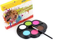 Wholesale hot Safe Face Painting Kit for Kids Ultimate Party colors cream gift DHL