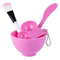 Wholesale Facial Beauty DIY Mask Bowl Set Brush Measuring Spoons Shaker in Plastic Mask Bowl
