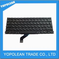 Wholesale Brand New Russian Keyboard For Macbook Pro Retina quot A1425 RU Laptop Keyboard MD212 MD213