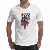 apart fashion - Couple Skulls Til Death Do Us Apart Letter Printing Tees Tops Modal White T shirts Men Women High Quality T Shirts Summer