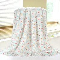 Wholesale 110 bubble gauze towels cotton baby towels cotton newborn infants children large towels