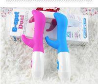 Compra Juguetes para la mujer vibración-Vibradores del G-Punto impermeabilizan juguetes vibrantes del sexo del consolador del conejo del palillo de la vibración dual para los productos adultos del sexo de las mujeres Envío libre