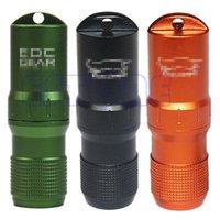 aluminium capsule - Portable Waterproof Aluminium EDC Capsule Pill Money ID Container Holder Keyring