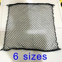 baggage net - Car boot string bag Elastic Rear Cargo Baggage parcel headliner Trunk Storage Organizer Net SUV m cm cm cm cm