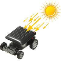 auto fun power - Mini Sunlight Solar Powered Robet Racing racer Car auto Fun Gadget For Kids Gift New Mini Children Solar Toy Gift Hot Sale