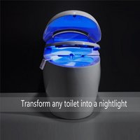 Wholesale Toilet Nightlight Home Toliet Bathroom Human Body Auto Motion Activated Sensor Seat Light Night Lamp Colors