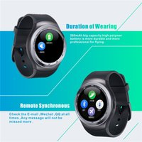 for Android Italian Sedentary Remind Y1 Bluetooth Smart Watch Bracelet Wristband 1.54inchTFT LCD Circular screen For Android Cell Phones Micro USB