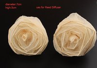 Wholesale ReedDiffuser Hand made dried flowers Essential oils infiltrate Vanilla Flower