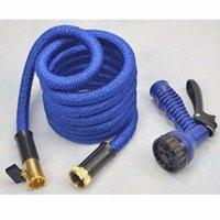 Timers & Controllers Rubber Water Hose atering Irrigation Garden Hoses Reels 2016 2 Color Strong Expandable Magic Flexible High quality Garden Hose inner rubber tube hose Blue ...