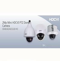Ptz 12x Baratos-DAHUA IP66 (al aire libre), IK10, OSD 2Mp Mini HDCVI PTZ cámara domo 1080P HDCVI 12X PTZ cámara DAHUA SD40212I-HC