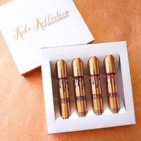 Wholesale Kylie Jenner KOKO Kollection lipstick Set Koko Kylie Cosmetics kollaboration Gold Metal Matte lipstick KHLOE Limited Edition Fast Shipping