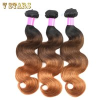 Wholesale Ombre Hair Extensions b A Brazilian Virgin Hair Body Wave Brazilian Human Hair Weave Bundles Rosa Hair Products