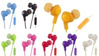 bass technology - 2016 Hot selling and efficient insulation technology HA FR6 in ear extra bass candy colored eaarphone for iphone samsung sony
