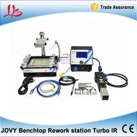 bench systems - Infrared Hot Air heating bga soldering welding machine Hybrid heating TurboIR Jovy Systems bench top bga reballing machine